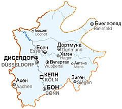 mapa nemacke keln Архијерејско намесништво за Северну Рајну и Вестфалију   Парохије  mapa nemacke keln