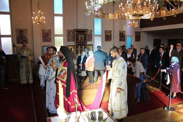 Епископ Сергије у Берлину