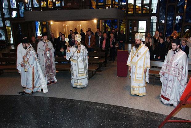 Свети апостол Лука прослављен у Нојвиду