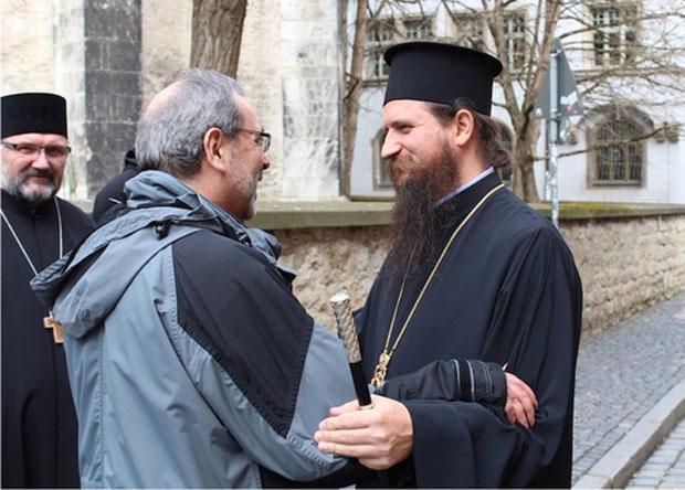 Serbisch-Orthodoxer Bischof Sergije zu Besuch in Regensburg